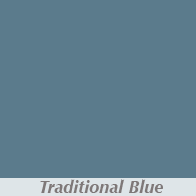 Traditional Blue Gutter Color