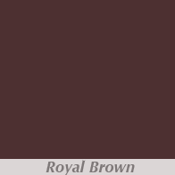 Royal Brown Gutter Color
