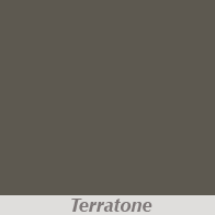 Terratone Gutter Color