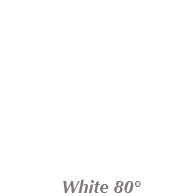 White Gutter Color 80