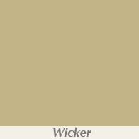 Wicker Gutter Color